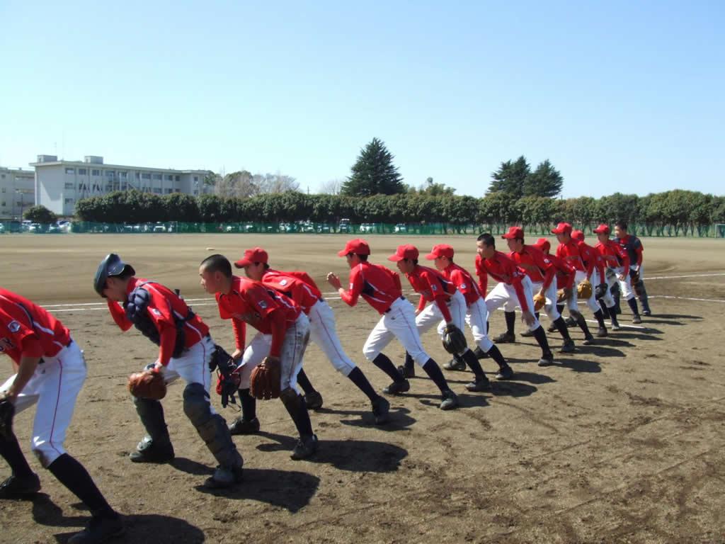2014-03-15 交流戦・合同練習(つくば学園ボーイズ)