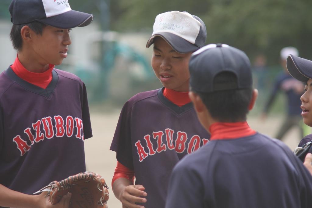 2014-09-15 交流戦(宇都宮中央ボーイズ)