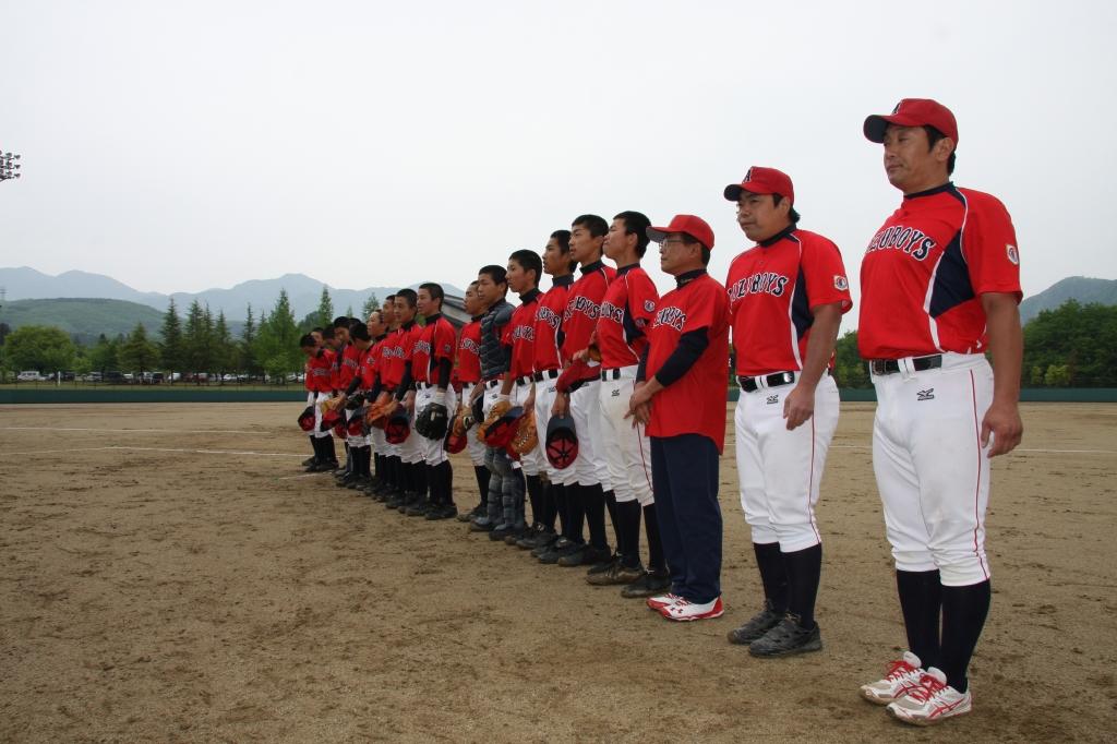 2015-05-16 第8回会津大会兼関東大会予選(宮城仙北ボーイズ戦)