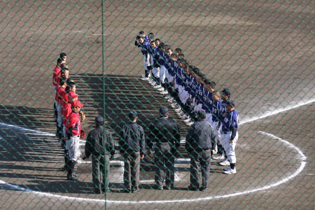 2016-11-06 FCT・民友杯第5回福島中学硬式野球大会 準決勝戦vs喜多方ボーイズ