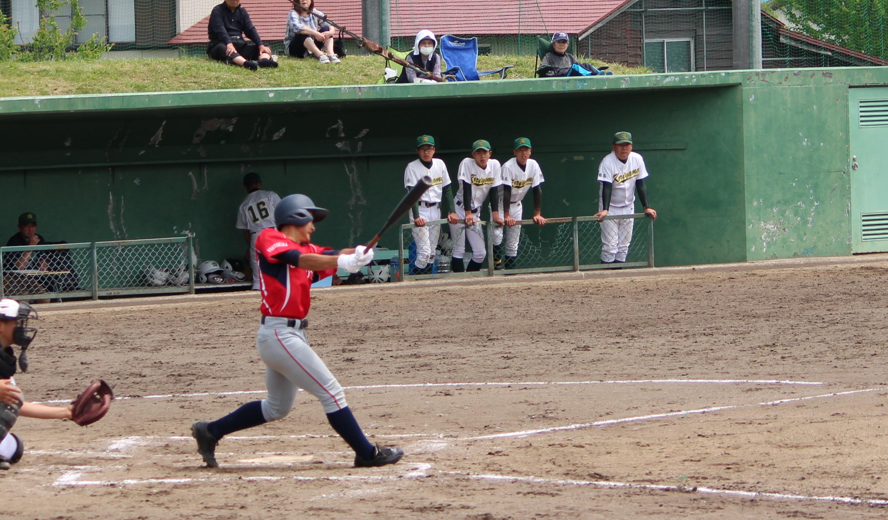 2018-5-12  第11回 日本少年野球 春季会津大会 兼 関東大会 東北支部予選会