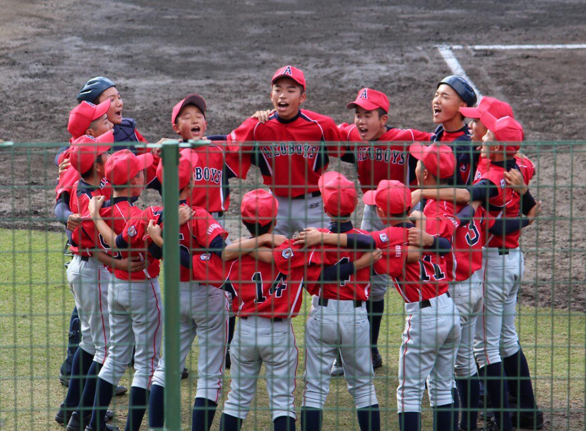 2018-10-27 第49回 日本少年野球 春季全国大会 東北支部予選会1回戦